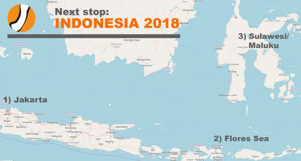 Update: Next Project: Indonesia 2018